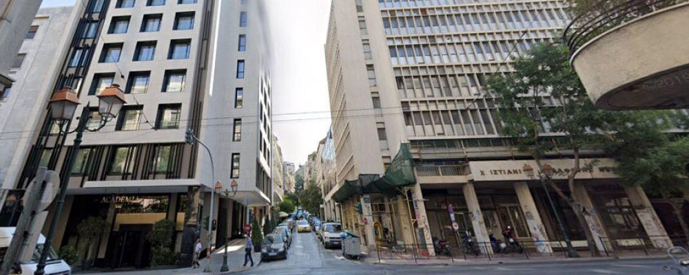 Ανοίγει ένα ακόμη 5άστερο ξενοδοχείο στην οδό Ακαδημίας