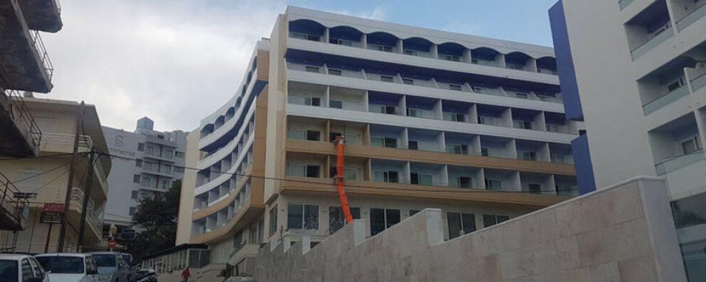 Ριζική ανακαίνιση δύο ξενοδοχείων στην πόλη της Ρόδου